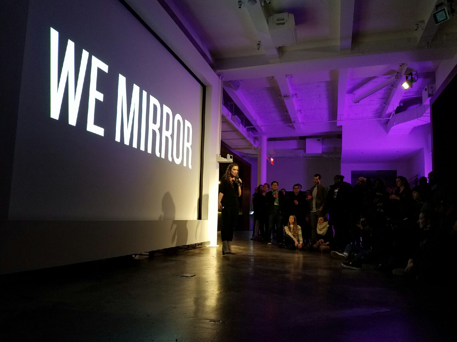 Joy Sela, The Four Pllars Launch, We Mirror, Positive Disruption